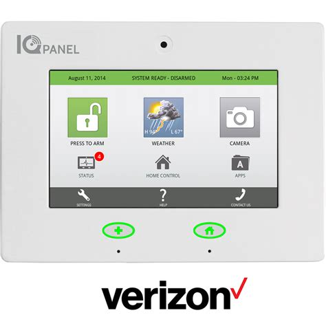 verizon home security 28 images qolsys iq panel for