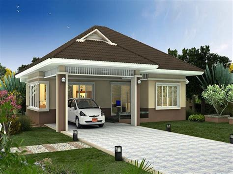 Bungalow Plans With Garage by Modern Bungalow House Plans Garage Bungalow House