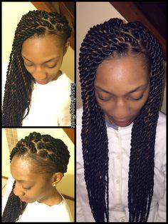 senegalese twists with shaved sides senegalese twists crochet braids pinterest