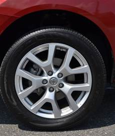 Tires Nissan Rogue 2011 Nissan Rogue Sl Review Test Drive