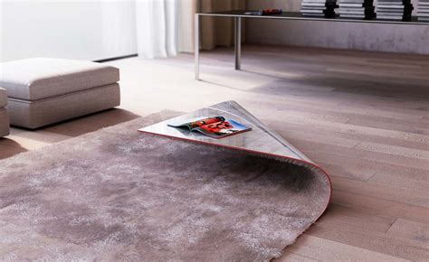 Table Rugs stumble upon rug corner coffee table by alessandro isola homeli