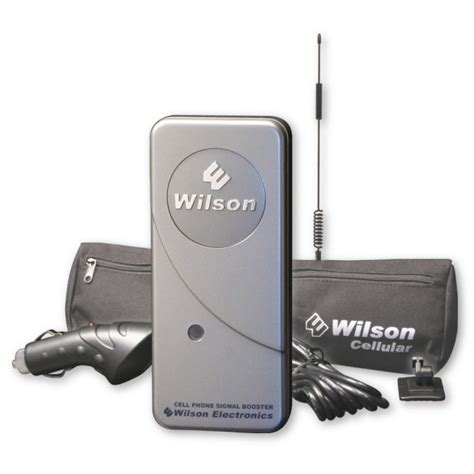 wilson 801241 mobilepro dual band signal booster kit with 12 quot antenna