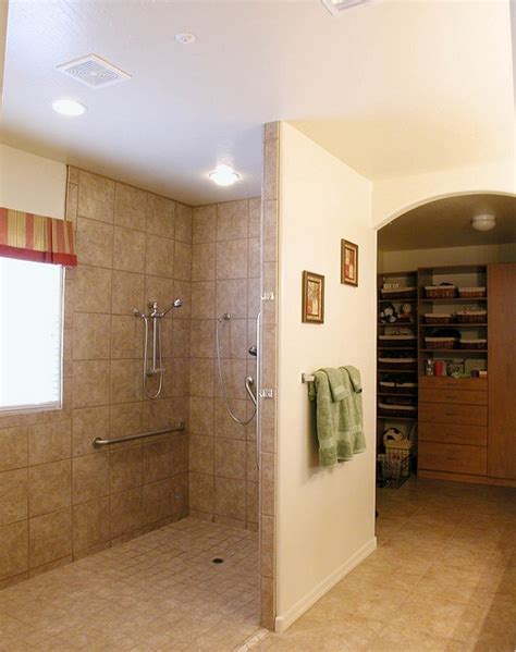 Open Showers Without Doors Shower With No Doors Home Updates Pinterest