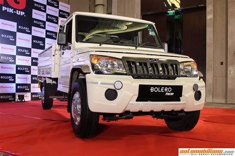 bid prices automobilians mahindra big bolero pik up launched in