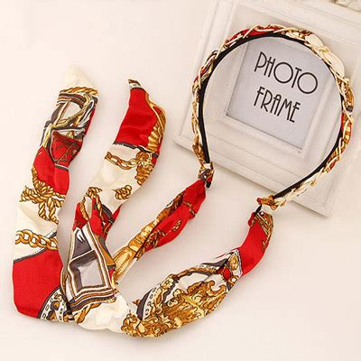 Bando Bowknot Decorated Flower Pattern Design 6 fashion metal decorated bowknot shape design alloy