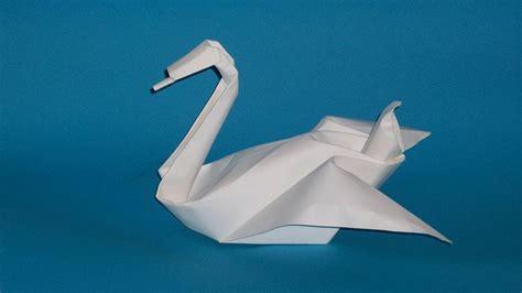Origami Flapping Swan - origami collections history of origami