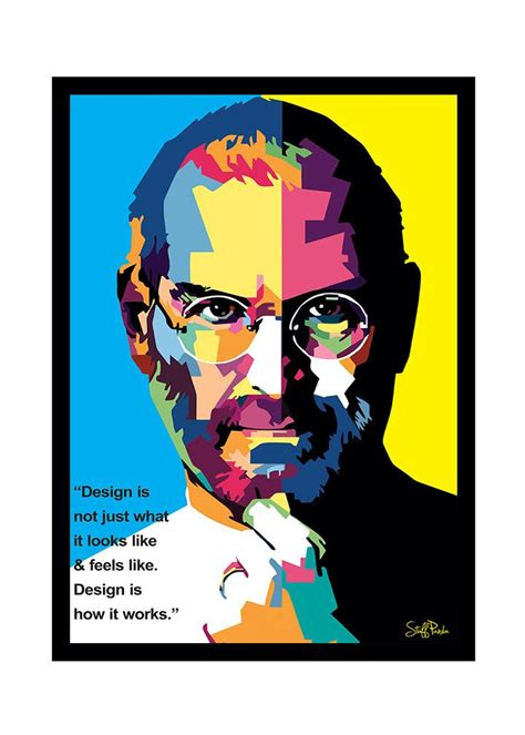 layout artist hiring cavite cool funky apple steve jobs pixels face glass frame