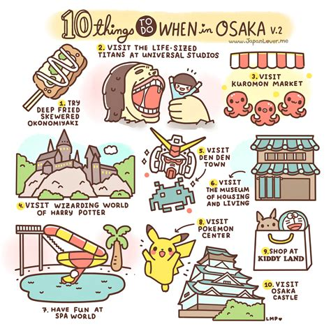 things to do in 10 things to do in osaka japan luggage only