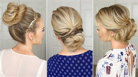 easy to make open hairstyles 3 stunning updos that you can do on yourself hair
