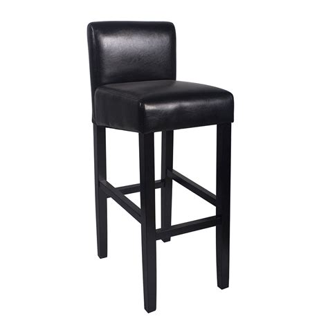 modern black mitre wooden stool contemporary counter new modern wood leather barstool 32 quot contemporary bar