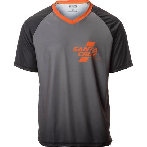 Kaos T Shirt Bicycle Santacruz santa bicycles trail jersey sleeve s
