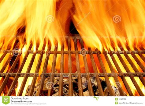 Background Grill Bbq Grill And Burning Charcoals With Bright