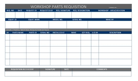 template for requisition form parts requisition form template quotes