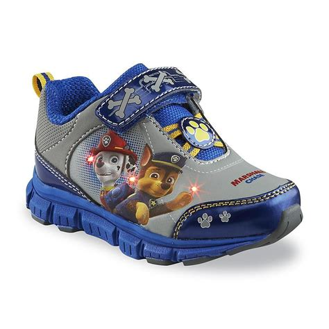 toddler boy athletic shoes toddler boy s paw patrol gray blue athletic shoe sizes 7 8
