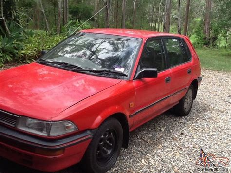 Toyota Corolla 1990 Manual Toyota Corolla Sx 1990 5d Hatchback 5 Sp Manual 1 6l