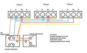 dusk pir security lights wiring question answer board talk electrician forum