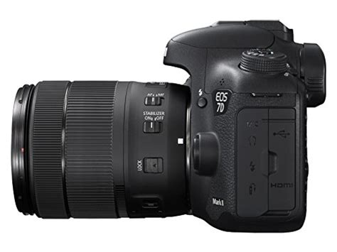 Canon Eos 7d Lensa Kit Ef S 18 135mm 1 3 5 5 6 Is canon eos 7d ii digital slr with ef s 18 135mm is usm lens wi fi adapter kit