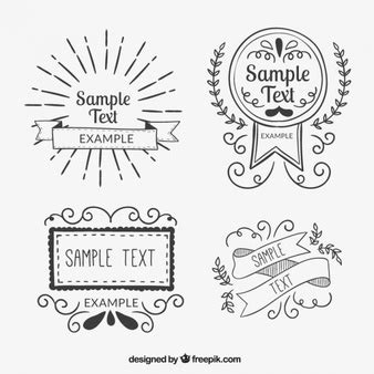 doodle free text option doodle vectors photos and psd files free
