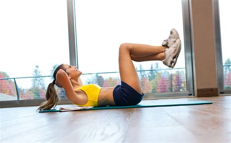 how to do crunches fitness magazine