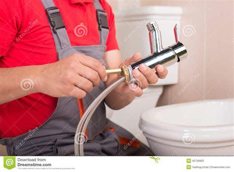 His Plumbing by Plumbing Stock Photo Image 45758903