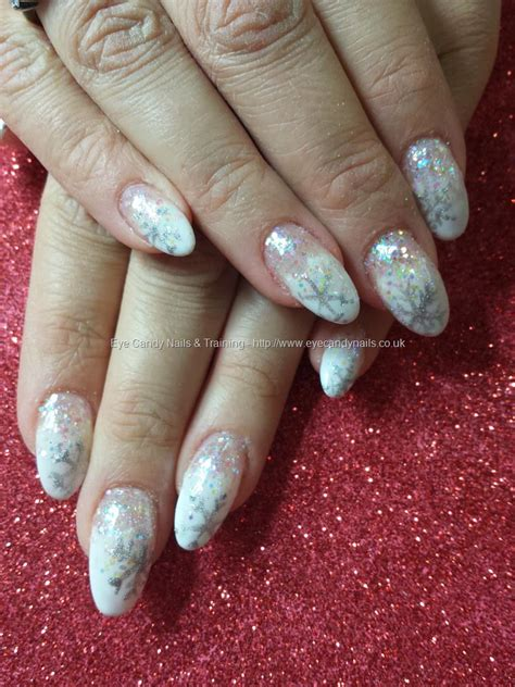 black hair stylist in fairbanks alaska glitter snowflake nails nail ftempo