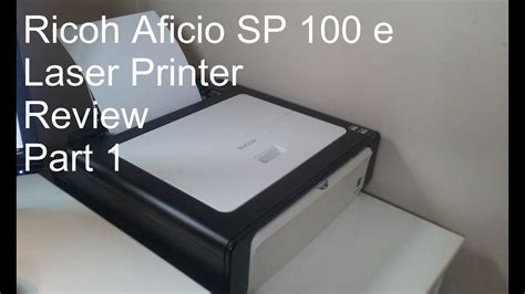 Printer Laser Ricoh Sp 100 ricoh aficio sp 100 e laser printer review