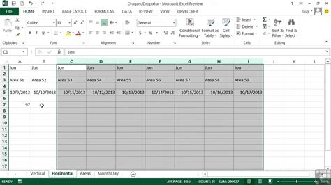excel 2010 how to use fill handle tutorial tips and microsoft excel 2013 tutorial the fill handle youtube