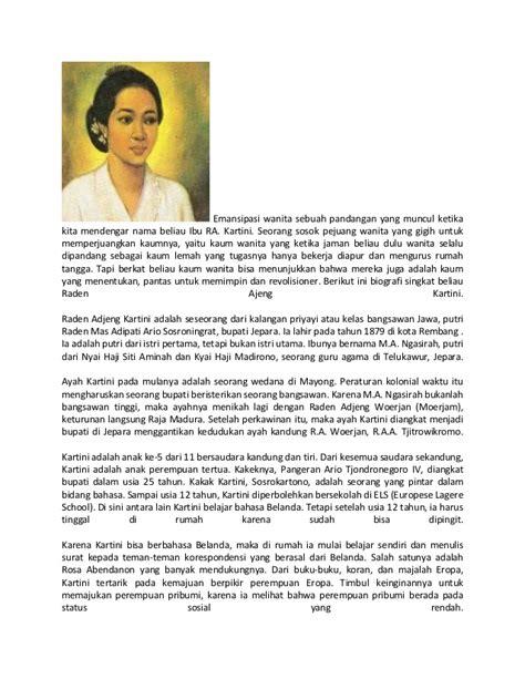 r a kartini biografi singkat sejarah kartini luqman