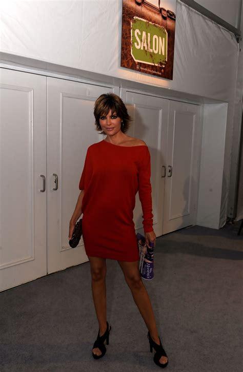 lisa rinna dress lisa rinna sweater dress looks stylebistro