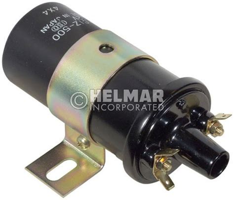resistor 12 volt coil with external resistor 2021440 hyster original hitachi ignition coil 12 volt resistor type a ignition