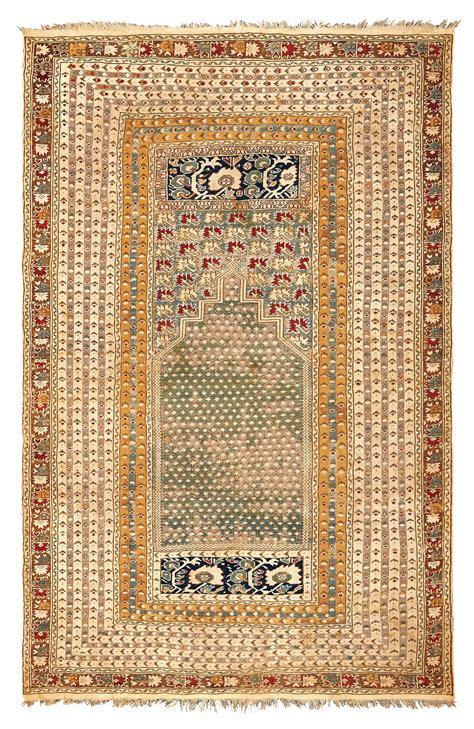asta tappeti antichi tappeto ovest anatolia ghiordes xix secolo tappeti