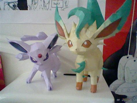Leafeon Papercraft - espeon papercraft template images images