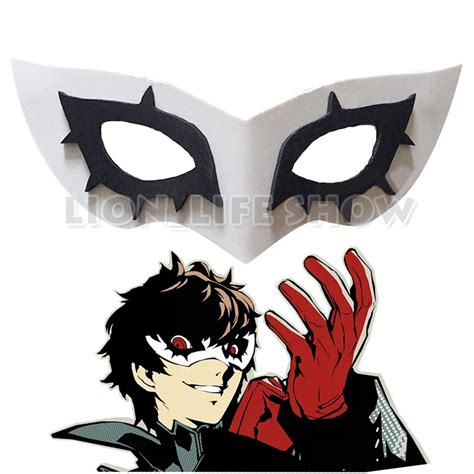 alibaba persona 5 persona 5 p5 joker cosplay mask prop accessories halloween