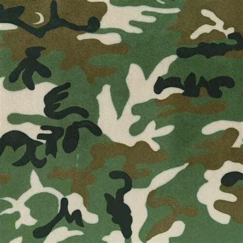 green camouflage minky fabric by the yard black fabric