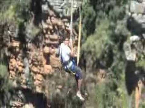 swinging south africa the big swing bungy swing graskop south africa youtube