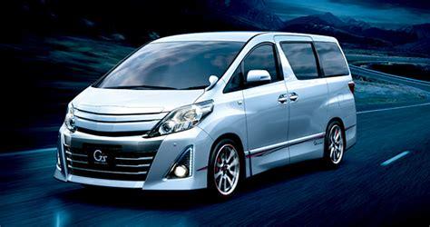 Toyota Vellfire Indonesia Toyota Alphard Gs Kini Hadir Di Indonesia
