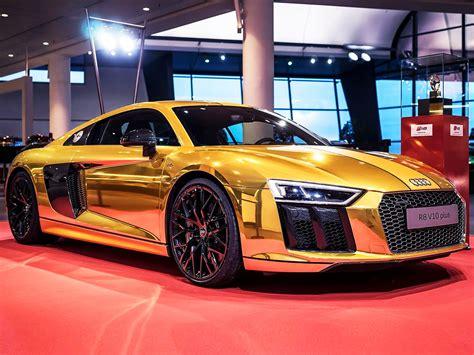 Audi Jahreswagen Neckarsulm by Goldener Audi R8 Im Audi Forum Neckarsulm Autozeitung De