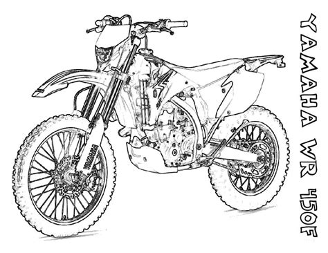 Dirt Bike Coloring Pages For Boys Fitfru Style Dirt Bike Pictures To Print