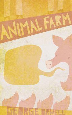 Buku Animal Farm George Orwell illustration animal farm george orwell illustrations