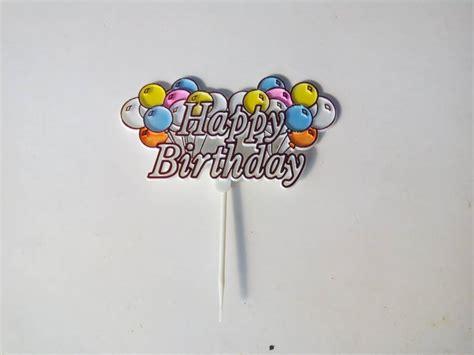membuat tulisan happy birthday online jual hiasan kue ulang tahun tulisan happy birthday balon