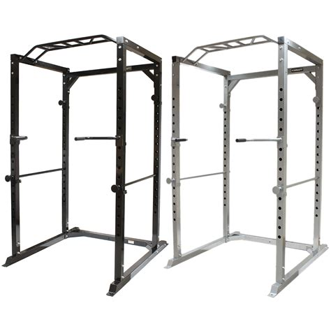 mirafit 350kg heavy duty olympic power cage rack