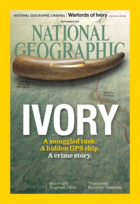National Geographic Bloody Ivory gps trackers in elephant tusks reveal ivory smuggling route connecticut radio