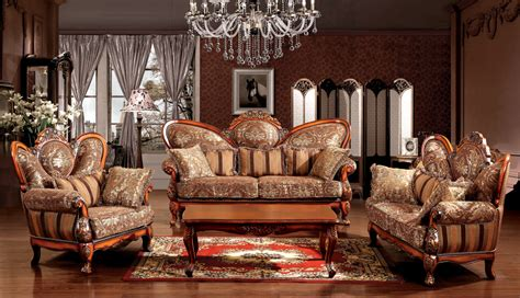 The Sofas European European Style Sofa Solid Wood Sofa European Style Living Room Furniture