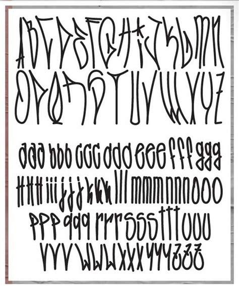 Kaos Lettering Dan Tipografi 43 font graffiti free tipografi desain model huruf