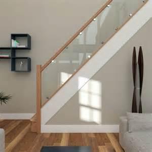 treppe glas treppe mit glasgel 228 nder f 252 r schickes interieur archzine net