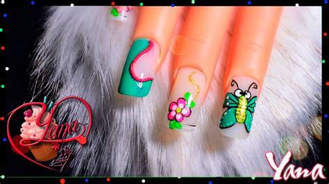 imagenes uñas decoradas libelulas decoracion de u 241 as gusanito