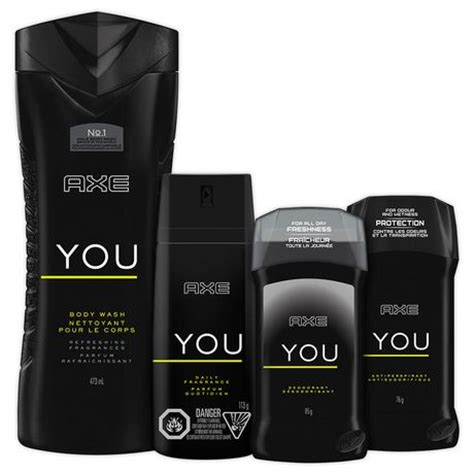 Parfum Axe You axe you daily fragrance 113g walmart canada
