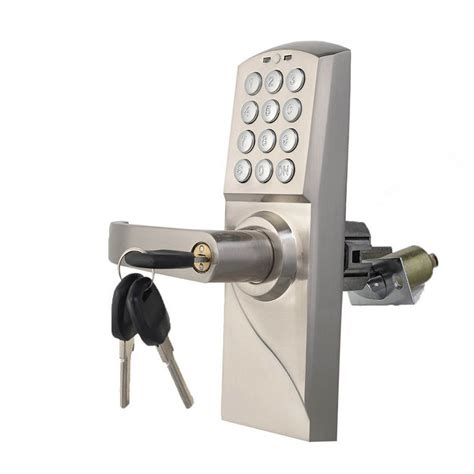 Electronic Keypad Door Lock by Digital Electronic Code Keyless Keypad Security Entry Door