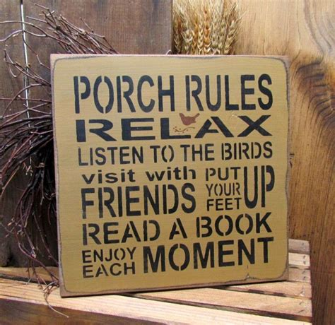 Garten Terrasse Holz 913 by Porch Wooden Sign Front Porch Decor Products