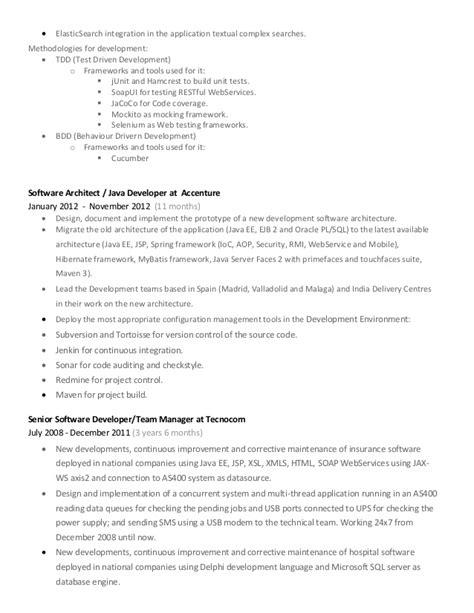 Java Hibernate Sle Resume Curriculum Experience Hibernate Java Linux Resume Submit Tip Vitae Unemploymentbenefits Web